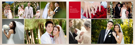 Jual DVD Template Kolase Foto Wedding & Prewedding