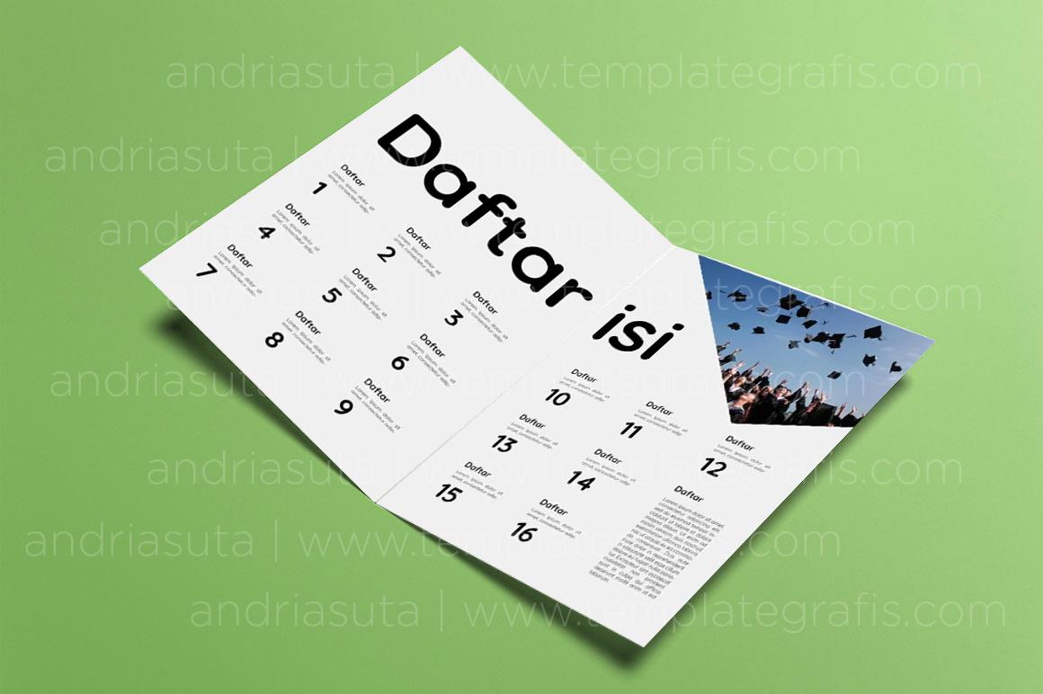 1070+ Desain Halaman Buku Tahunan Terbaru